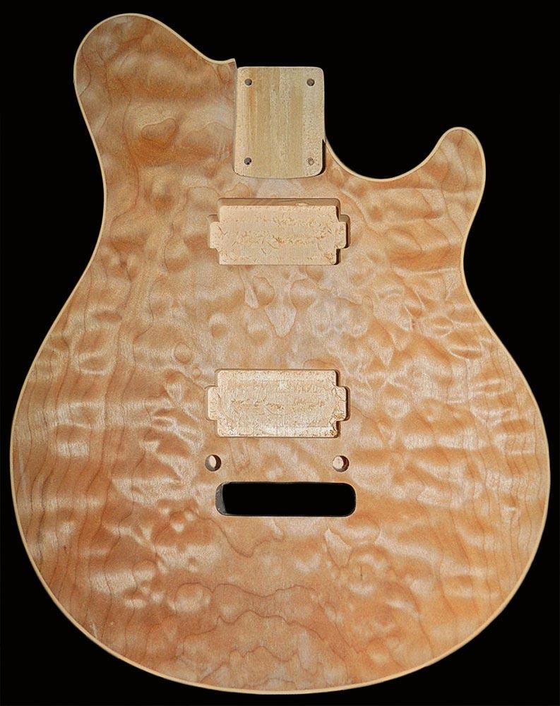Guitar usa custom guitars lam top s lam top wolfpack flat top w binding sciox Images